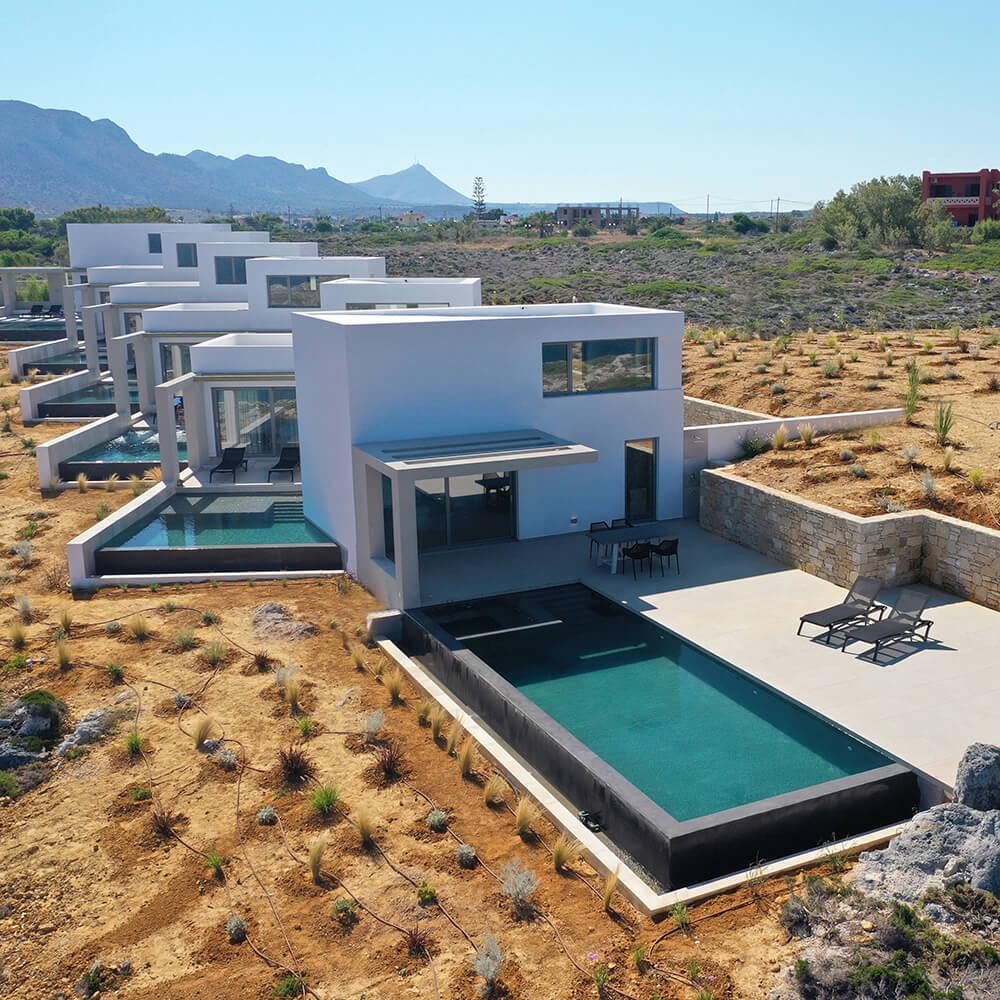 Νέο συγκρότημα τουριστικών κατοικιών Κavos Suites στον Σταυρό Ακρωτηρίου, Χανιά