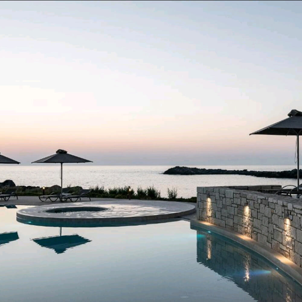 Hotel Renovation and pool design in Stavros Akrotiri