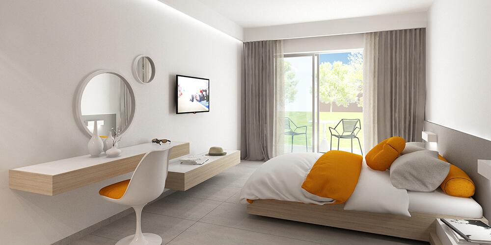 Ανακαίνιση δωματίων σε υπάρχουσα ξενοδοχειακή μονάδα στο Ρέθυμνο