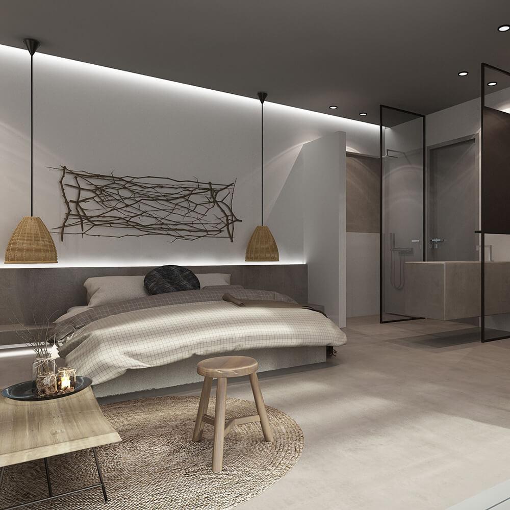 Διαμόρφωση δωματίων σε νέα ξενοδοχειακή μονάδα στα Χανιά